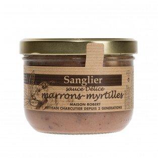 Sanglier sauce délice marrons myrtilles, 380 gr