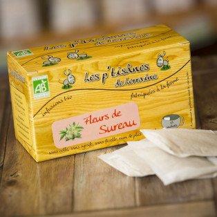 Tisane Bio Fleurs de Sureau, 180 gr