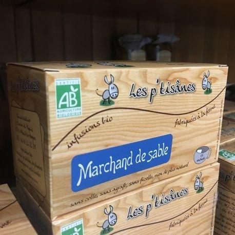 Tisane Bio Marchand de Sables, 180 gr