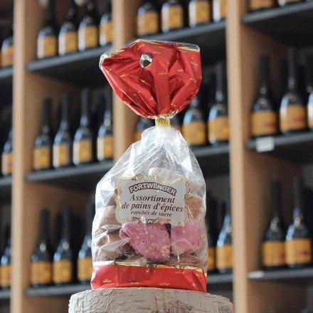 Assortiment pains d'épices enrobés de sucre, 250 gr