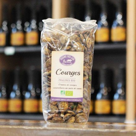 Graines de courges caramel Bio, 150gr