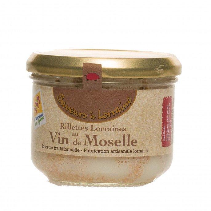 Rillettes au Vin de Moselle, 200 gr