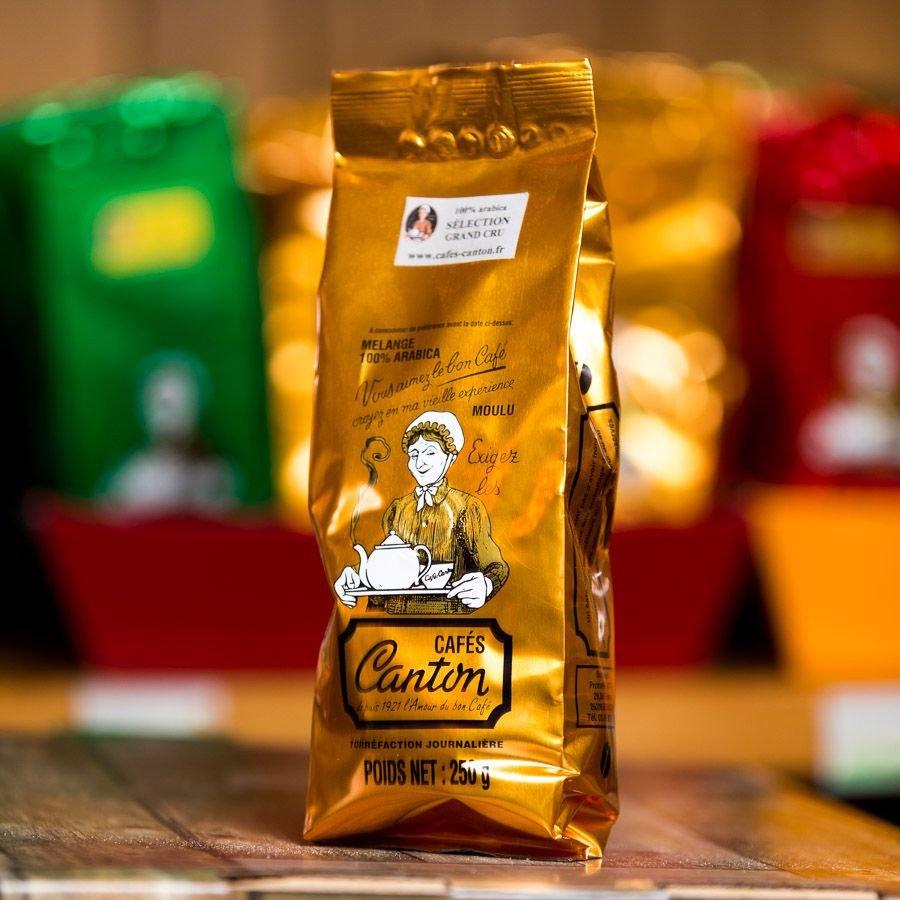 Café moulu sélection grand cru, 250gr