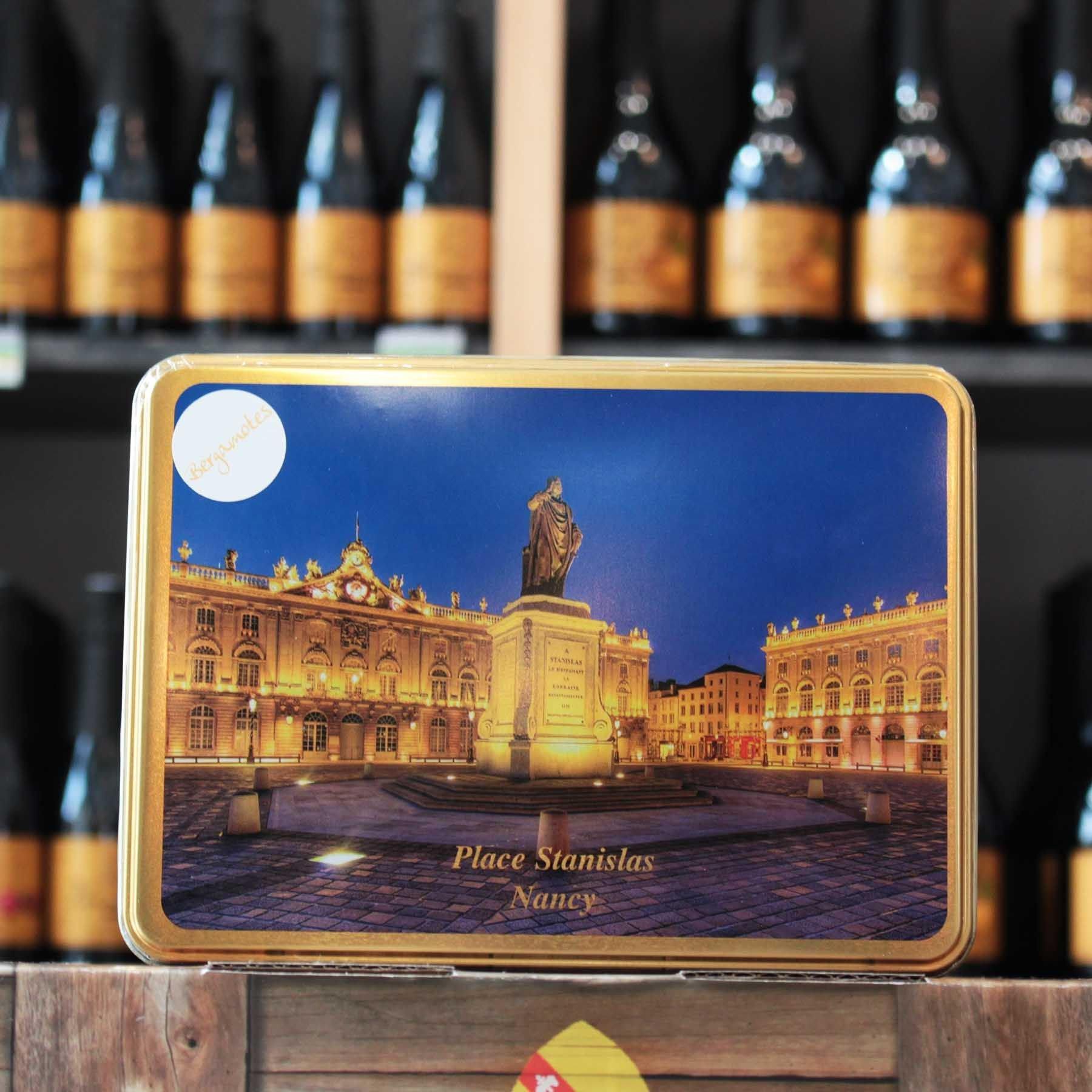 Boite fer Place Stanislas, 180 gr