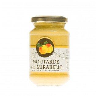 Moutarde Mi-forte à la mirabelle, 200 gr