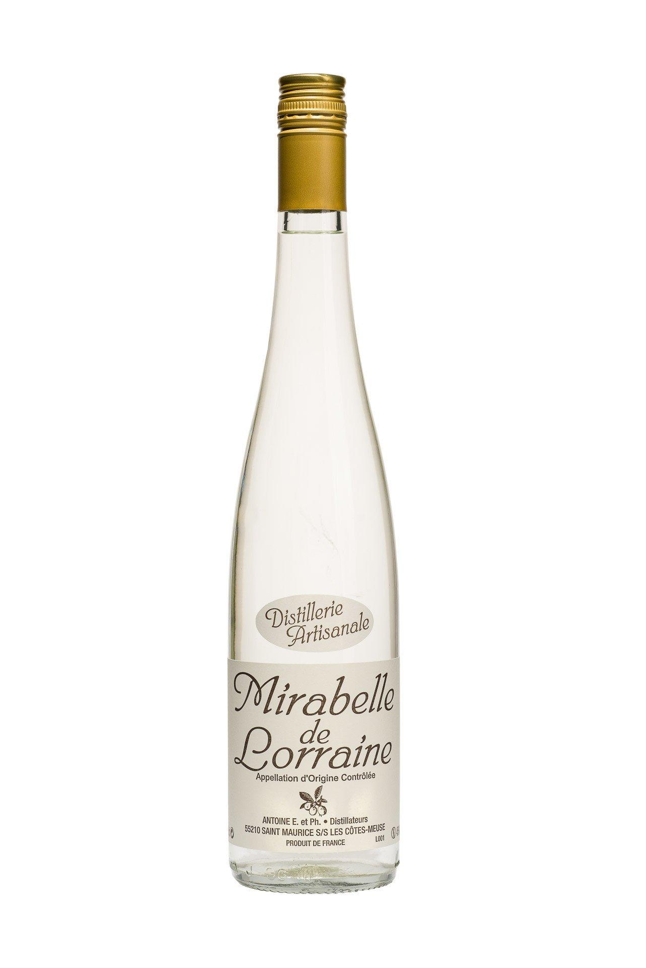 Eau de vie Mirabelle de Lorraine AOC 45°