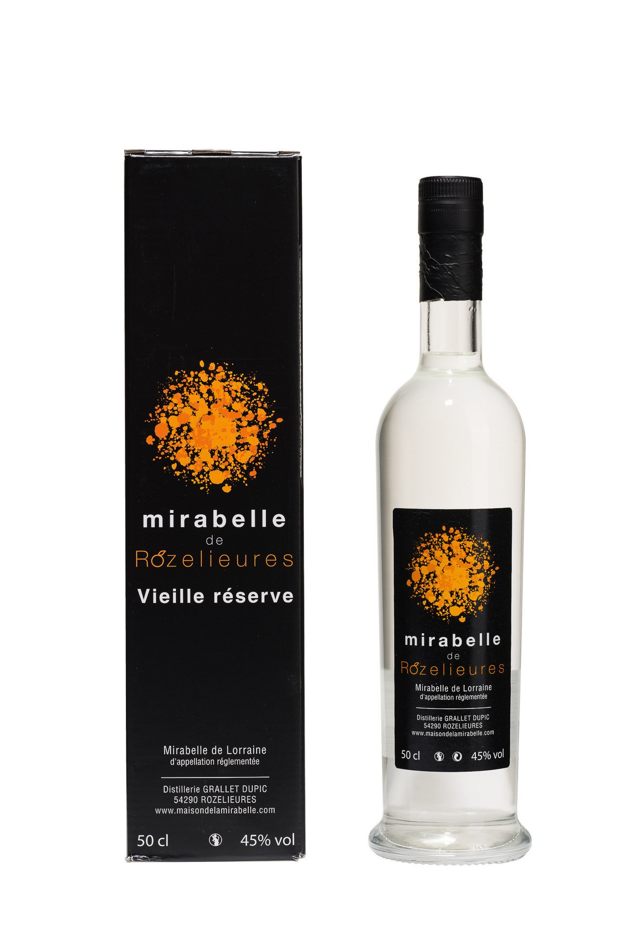 Eau de Vie de Mirabelle Vieille Réserve, 50 cl 45°