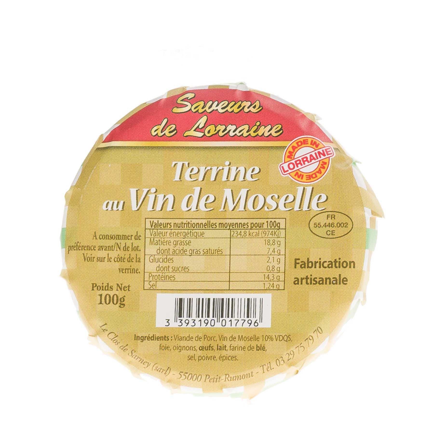 Terrine au Vin de Moselle