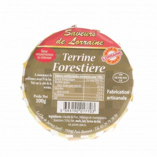 Terrine Forestière
