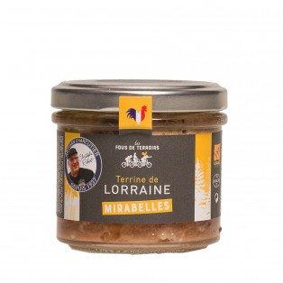 Terrine aux mirabelles de Lorraine