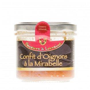 Confit d'Oignons à la mirabelle, 100 gr