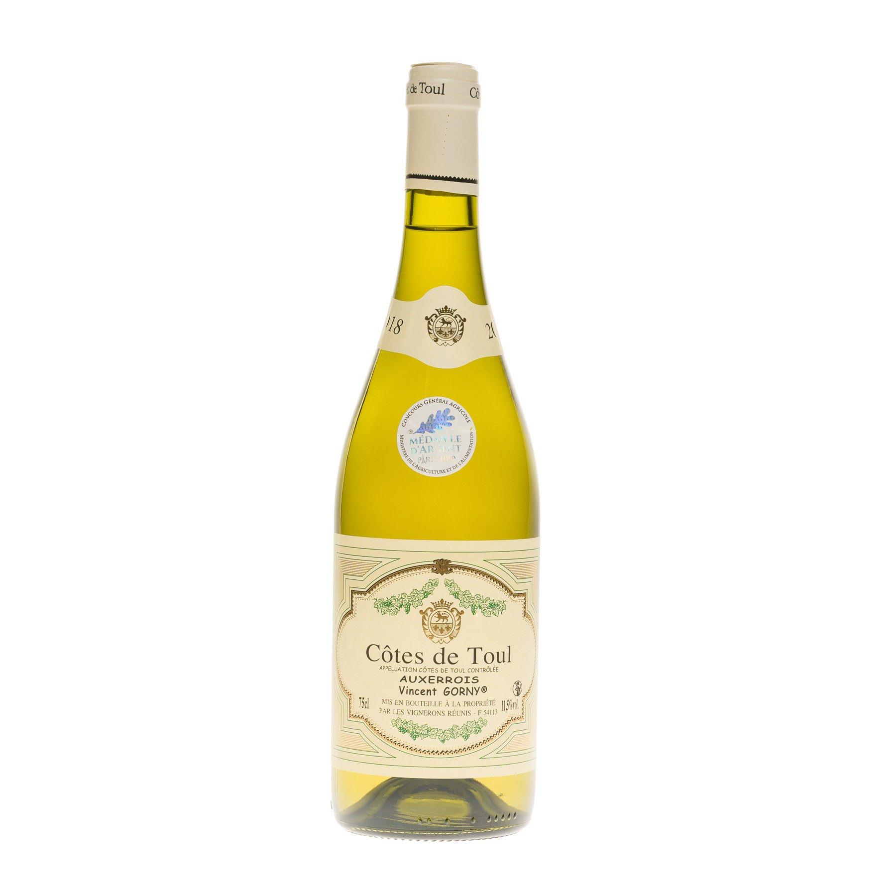 Vin Blanc Auxerrois des Côtes de Toul médaillé, 75 cl 11.50°