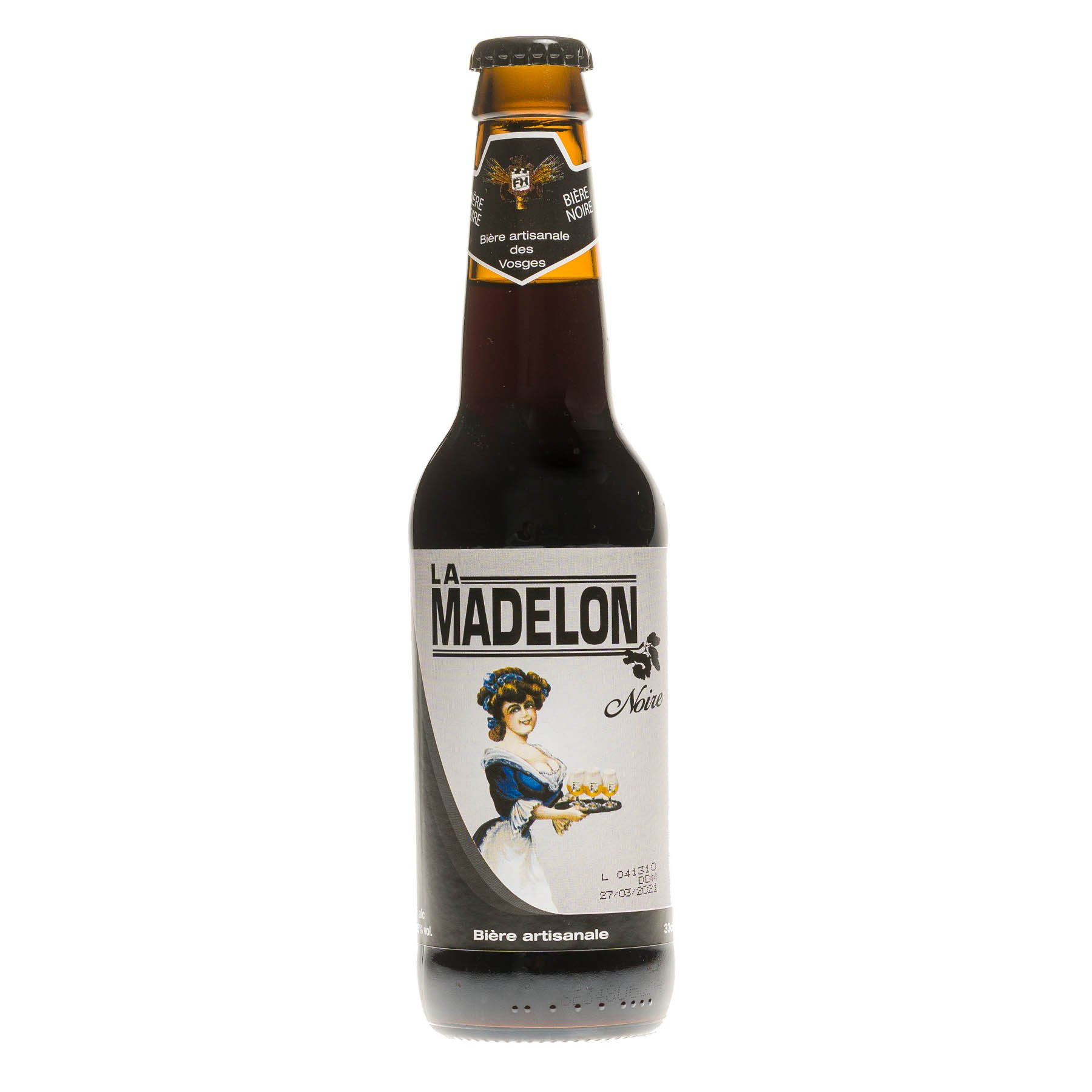 Bière La Madelon Noire, 33 cl 5.5°