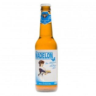 Bière La Madelon Blanche, 33 cl 4°