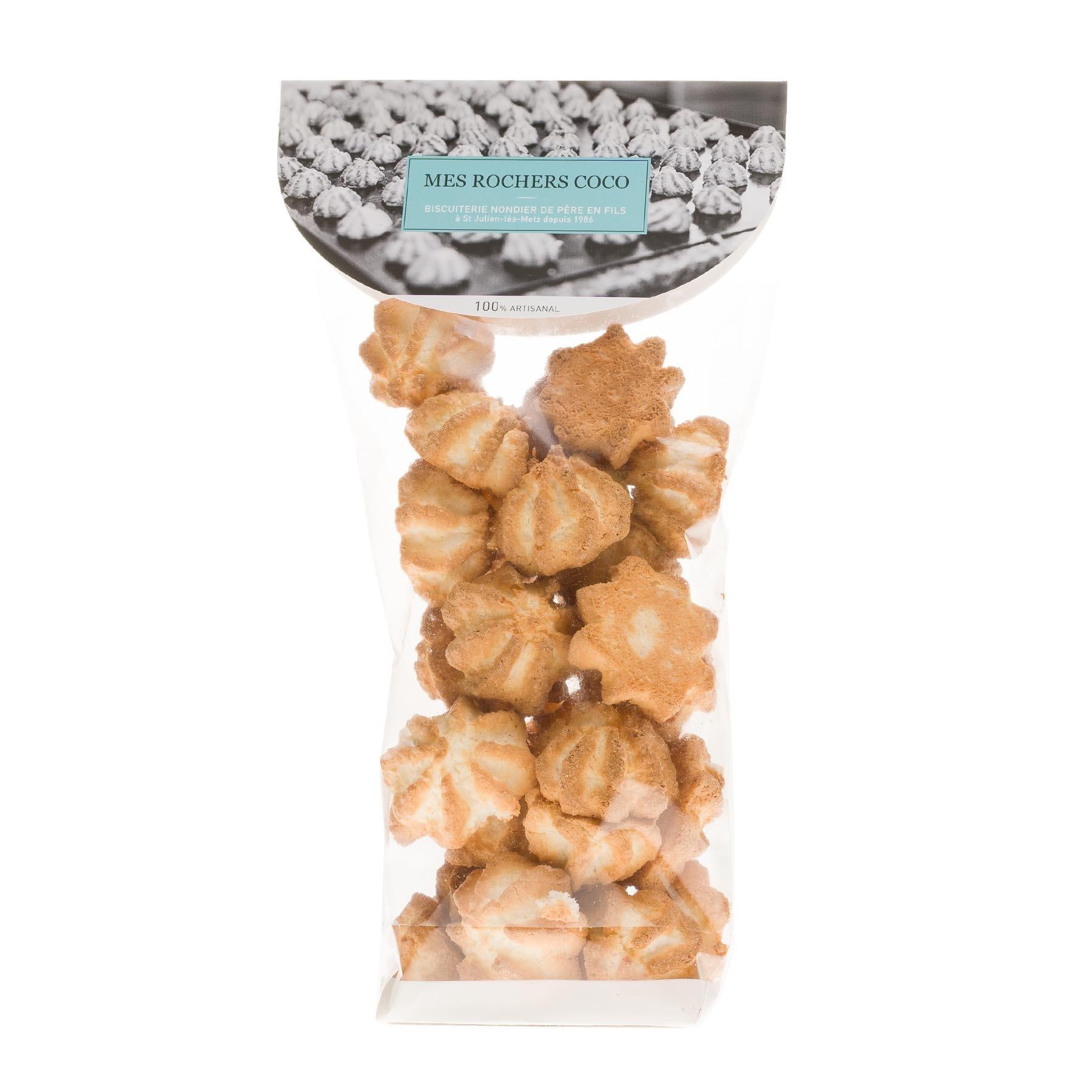 Rochers à la noix de coco, 250 gr