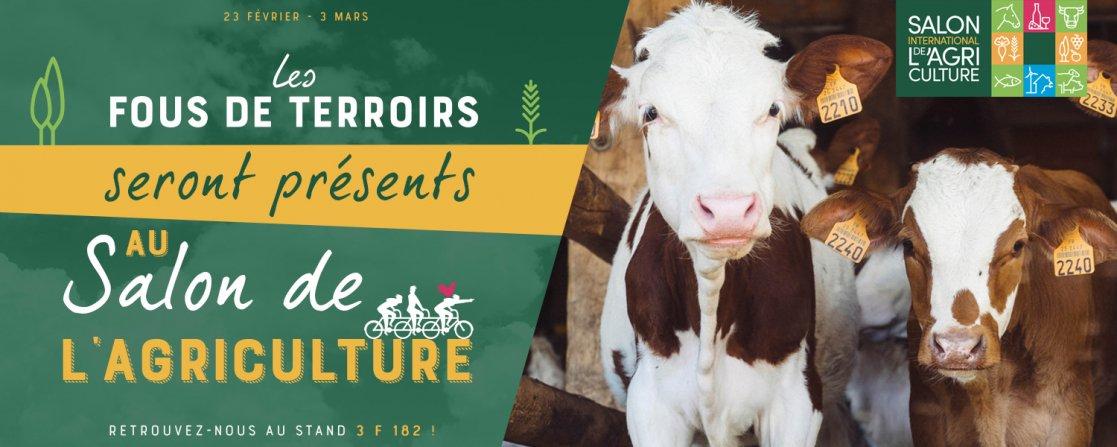 Les Fous de Terroir seront présents au Salon de l'Agriculture