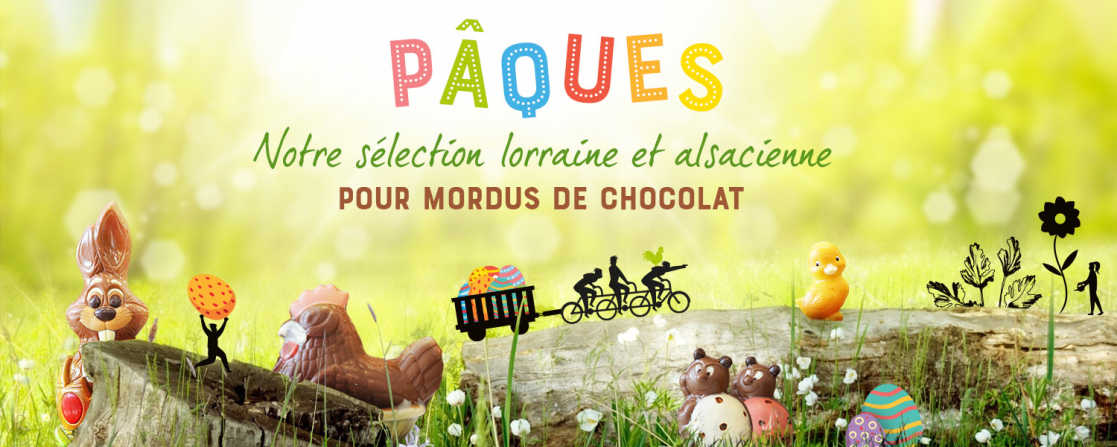 Pâques : Notre sélection lorraine et alsacienne pour mordus de chocolat