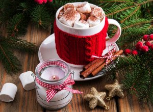 Chocolat Chaud Guimauves Cannelle