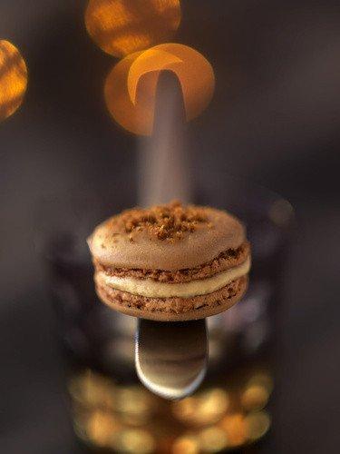 Macarons au Foie Gras et pain d'épices Noël