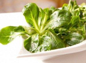 Salade au vinaigre de framboise et cerneaux de noix