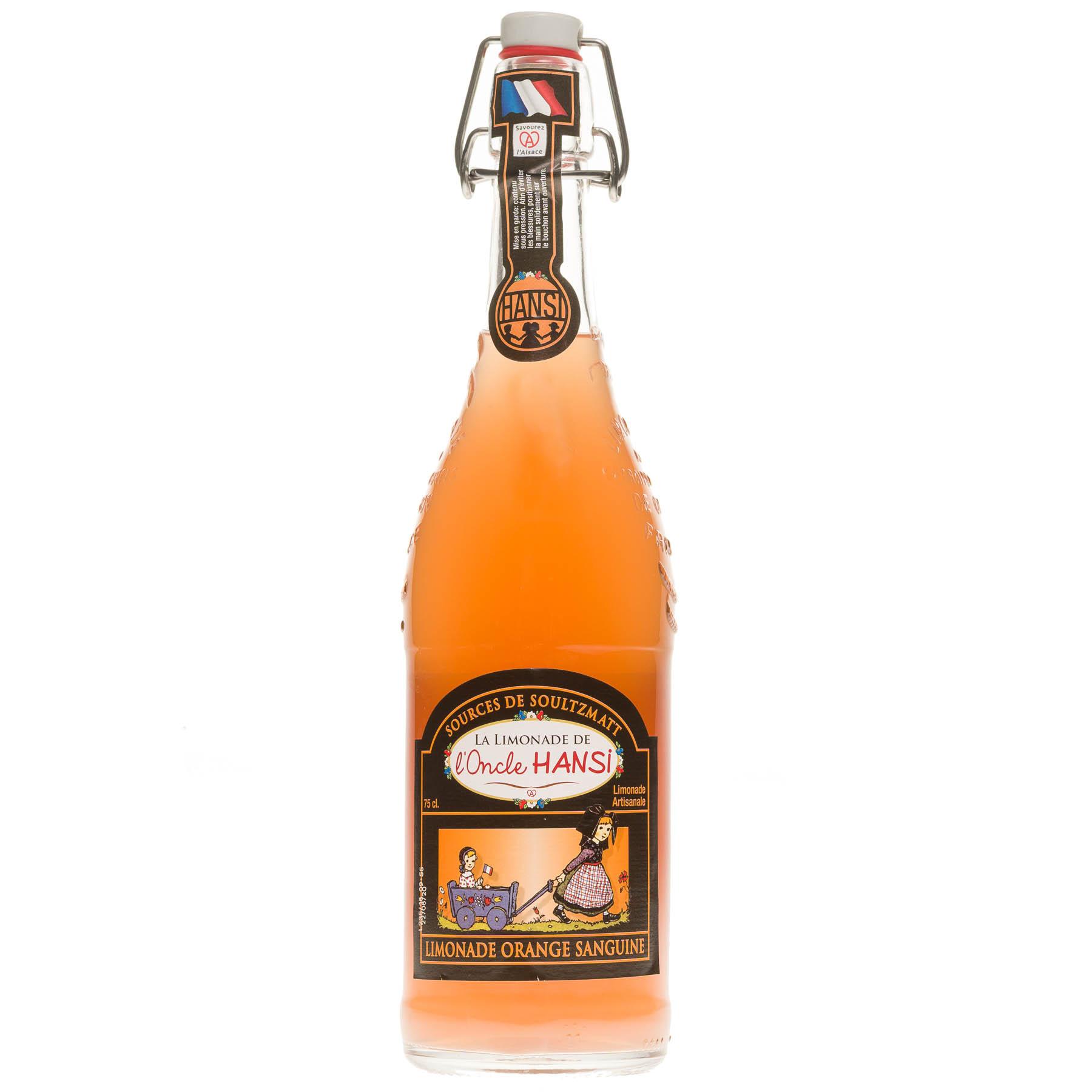 Limonade Oncle Hansi orange sanguine, 75cl