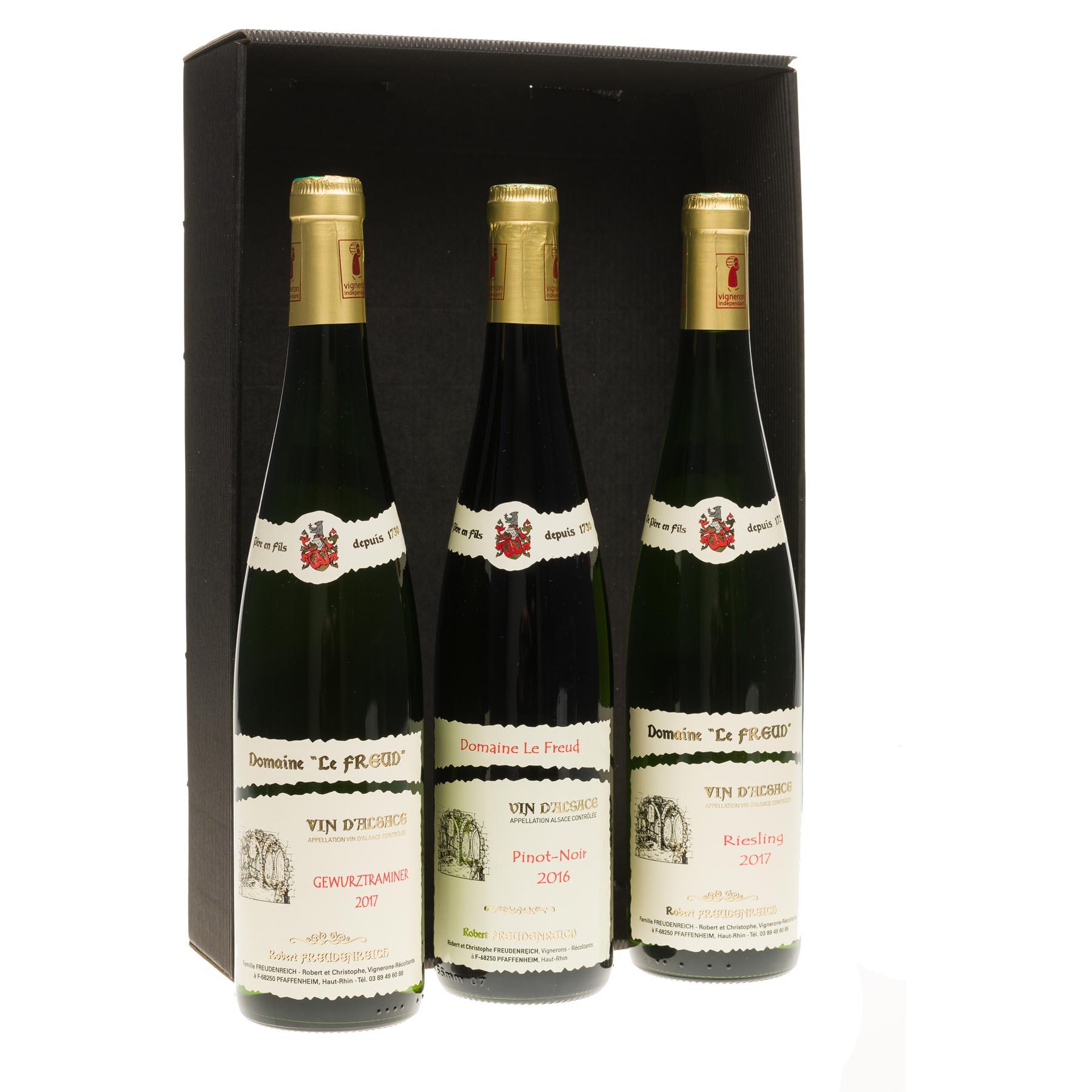 Coffret cadeau découverte des Vins Alsaciens
