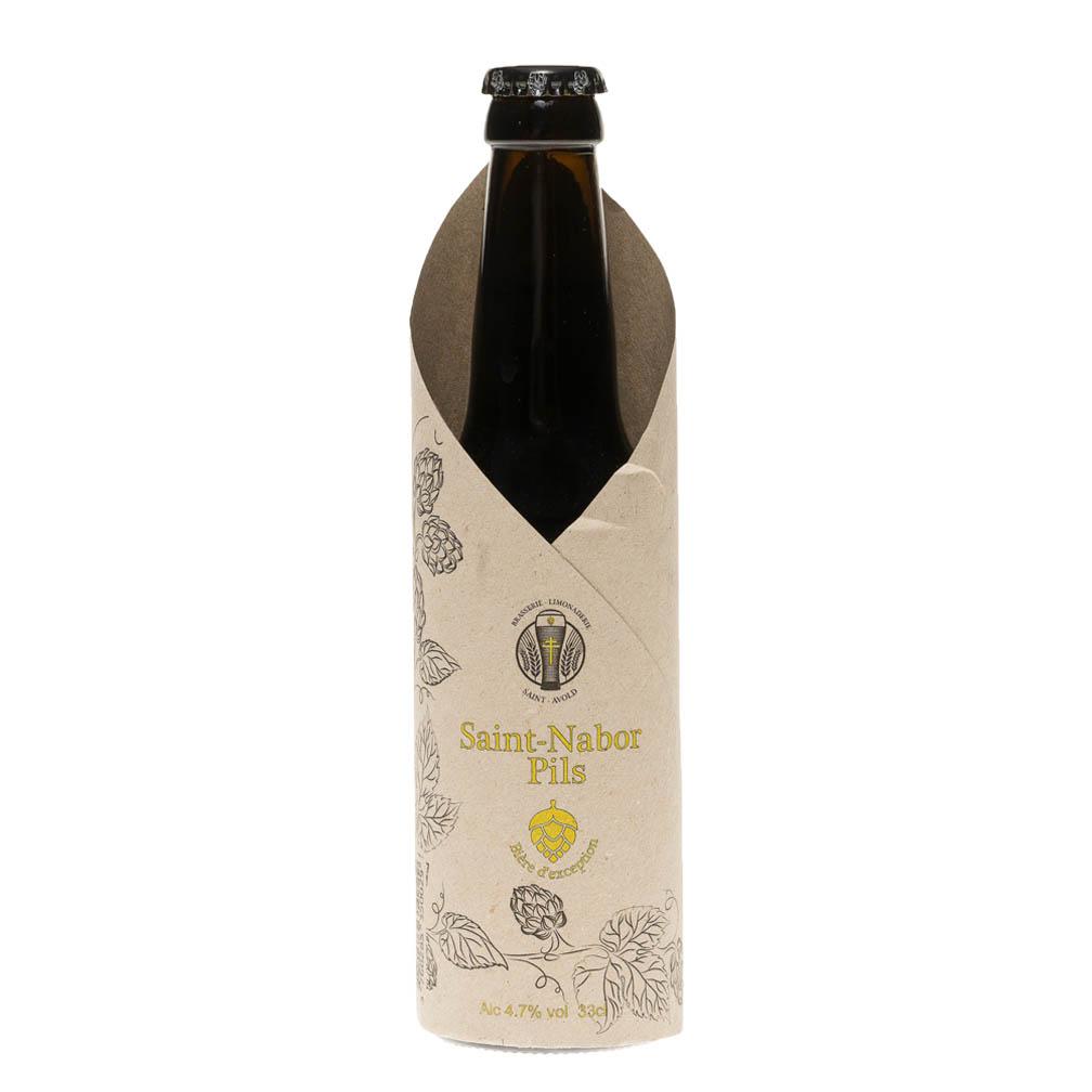 Bière Saint Nabor Pils 1900, 33cl 4.7°