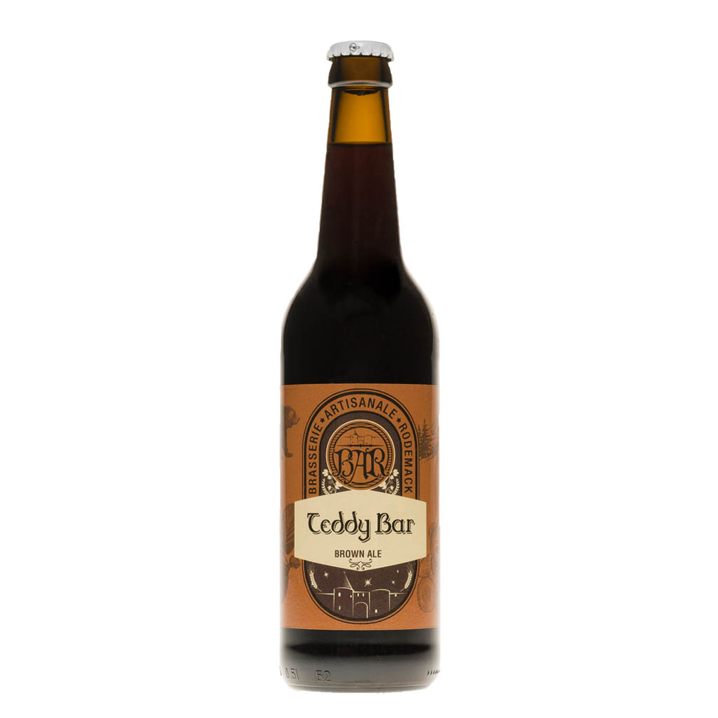 Bière brune Teddy Bar, 50cl 5.5°
