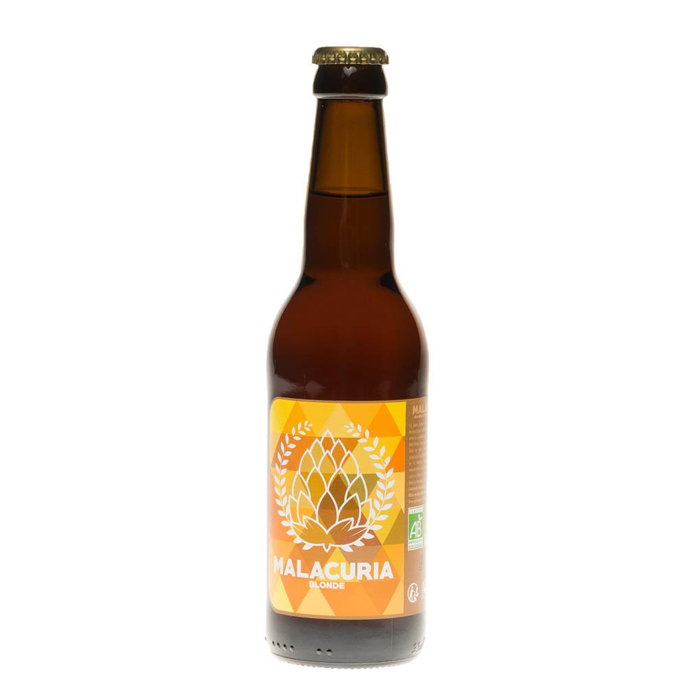 Bière blonde Malacuria BIO, 33cl 6°