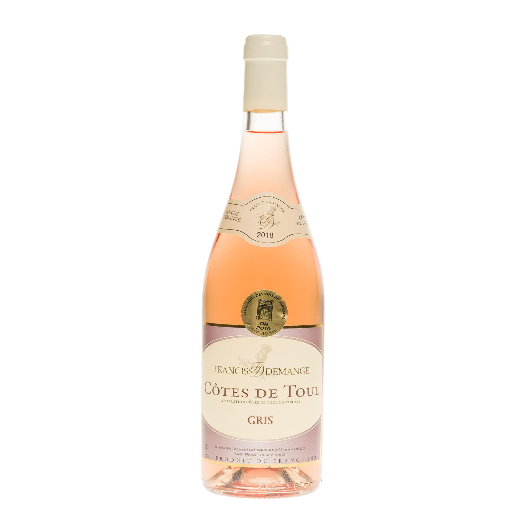 Vin Gris des Côtes de Toul