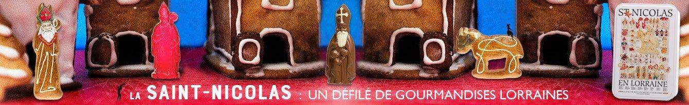 Défilé de gourmandises pour la saint nicolas