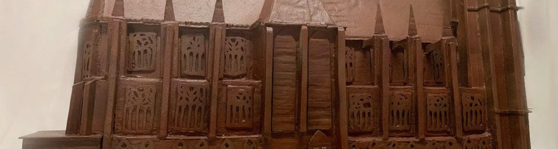 La Basilique de Saint-Nicolas-de-Port en chocolat