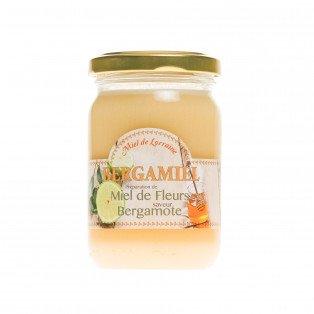 Bergamiel,  Préparation de miel de fleurs saveur bergamote
