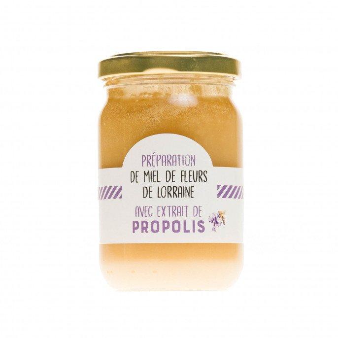 Miel de Lorraine et propolis, 250gr