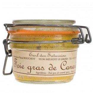 Foie Gras de Canard nature Meuse, 120 gr.