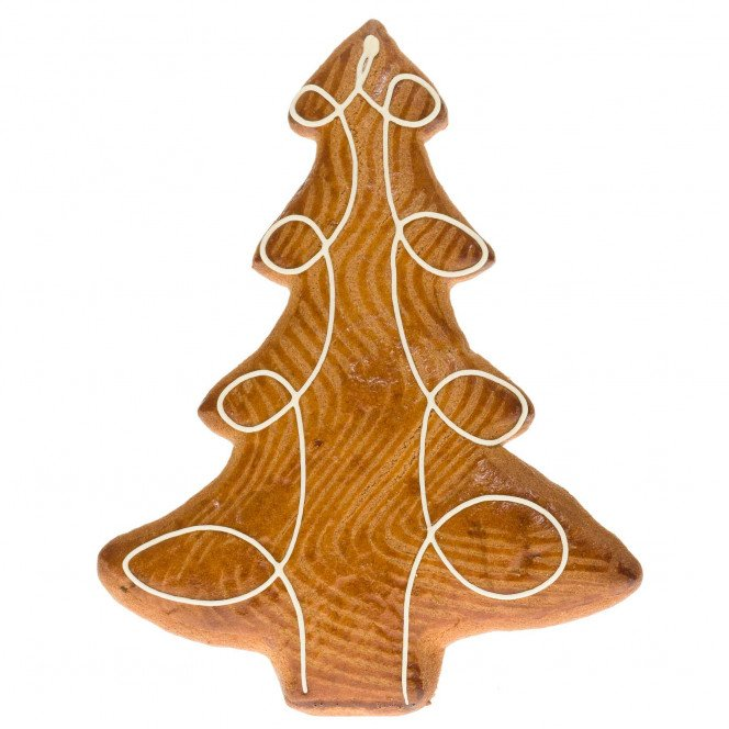 Sapin de Noël en pain d'épices