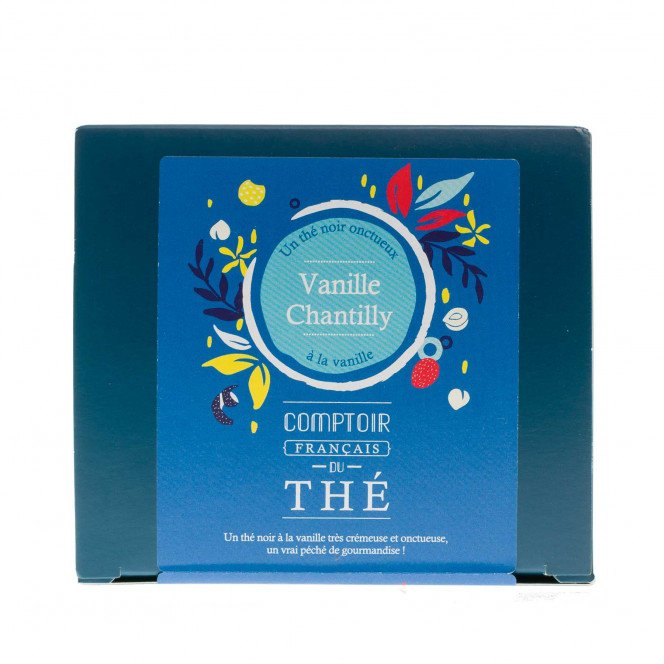 Thé noir Vanille / Chantilly