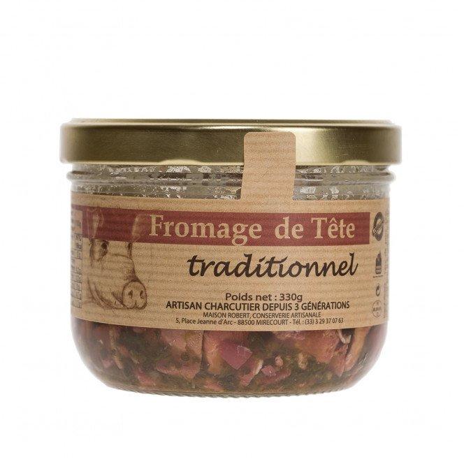 Fromage de tête traditionnel, 330 gr