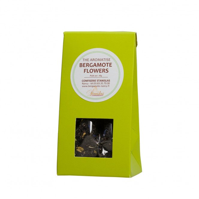 Thé noir aromatisé Bergamote Flowers, 45gr