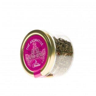 Thé aromatisé Macaron, Cassis et Violette, 45gr
