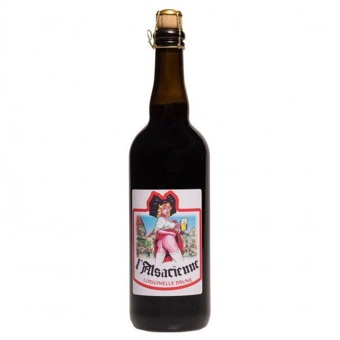 Bière brune du Gambrinus, 8°