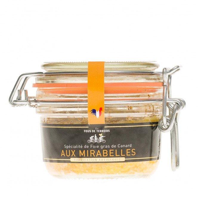 Spécialité de Foie Gras de Canard aux Mirabelles de Lorraine