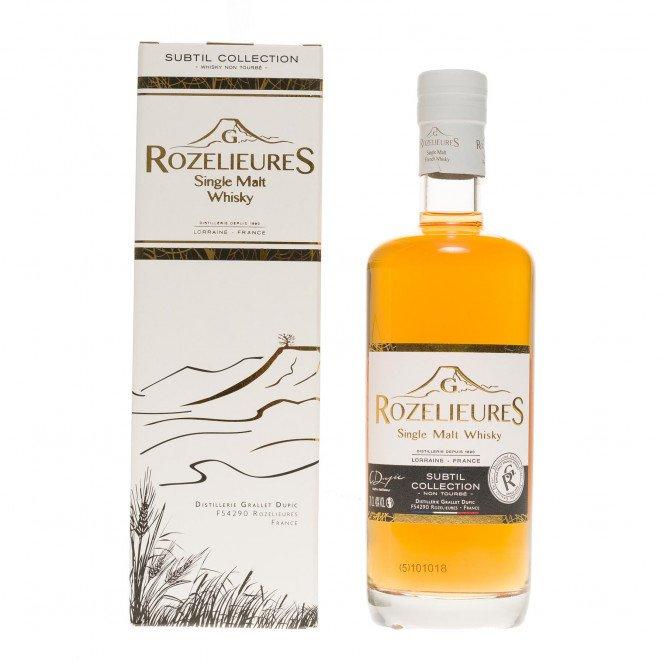 Whisky single malt G.Rozelieures