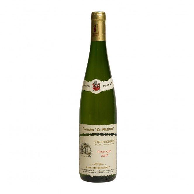 Alsace Pinot gris cuvée réservée 2017, 75cl 13°