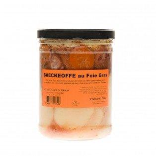 Baeckeoffe au foie gras