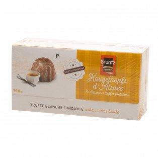 Ballotin 16 Truffes blanches Kougelhopfs arôme crème brulée