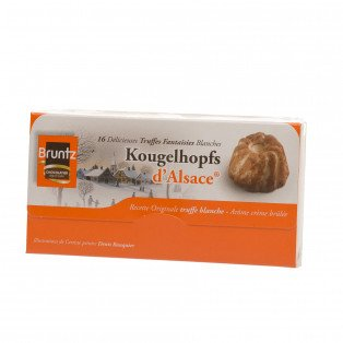 Ballotin Truffes blanches Kougelhopfs d'Alsace, 144g