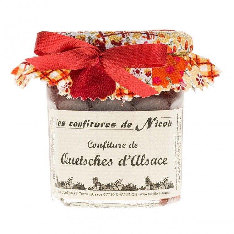 Confiture de Quetsches d'Alsace
