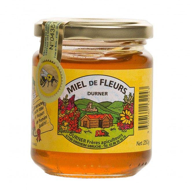 Miel de fleurs d'Alsace IGP, 250g