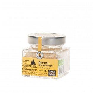 Brisures BIO de Bonbons des Vosges Bergamote, 120g